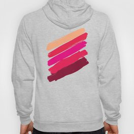 diagonal stripes Hoody