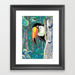 I m here Framed Art Print