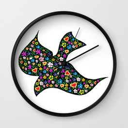 Holy Spirit Love Wall Clock