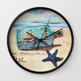 Anything is possible. Wall Clock