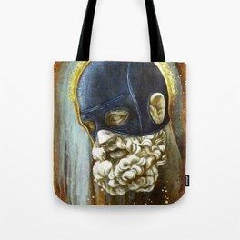 """""""Masked Hercules"""" Tote Bag"""
