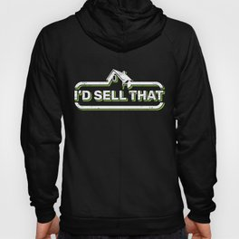 Id Sell That Negotiation Buy Sell Property Real Estate Agent Contract Building Key Land Agent House Hoody