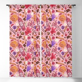 Love Potion Ingredients Blackout Curtain