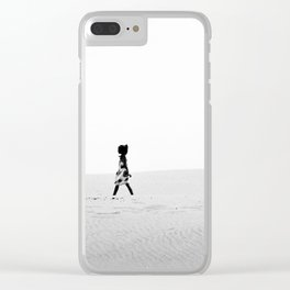 Girl on Mars Clear iPhone Case