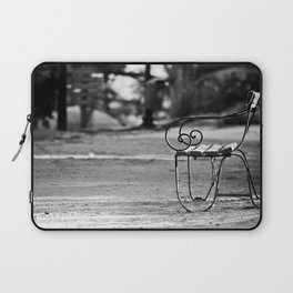 Solitary Park Bench Laptop Sleeve