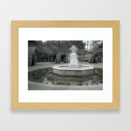 Font of Spring Framed Art Print