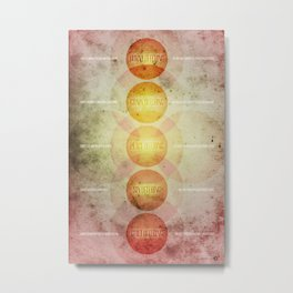 Levitical Offerings Metal Print