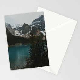 moraine natural blue Stationery Cards