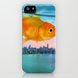 Tank with a view iPhone Case