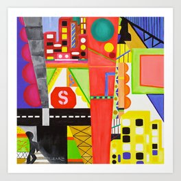City I Art Print