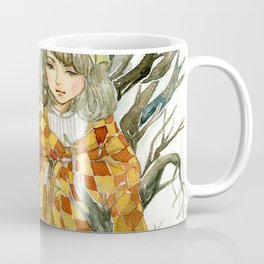 Winter Story Time in the Forest Coffee Mug