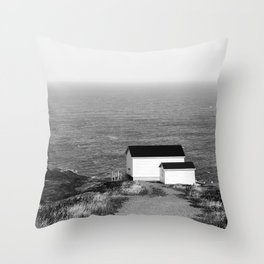 Cape Spear Lighthouse No.1 Throw Pillow