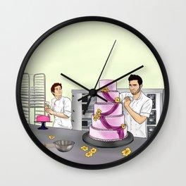 Baker Sterek Wall Clock