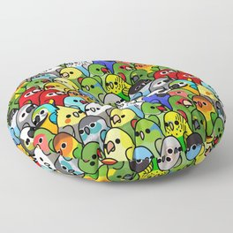 Too Many Birds!™ Bird Squad Classic Floor Pillow