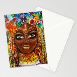 Original art Belleza Morena Stationery Cards