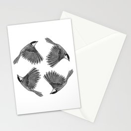 A Great tit named Titus Stationery Cards