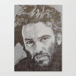 Damien Saez Canvas Print