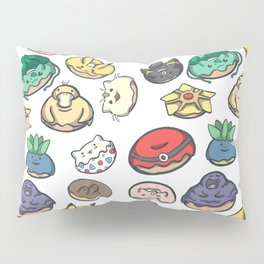 Poke Donuts Pillow Sham