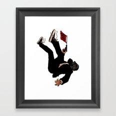 Awwwwwwwww Crap! Framed Art Print
