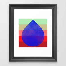 flourish 5  Framed Art Print