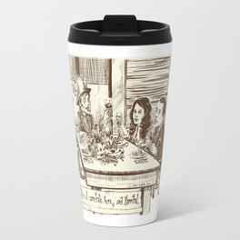 We're all cannibals here Travel Mug