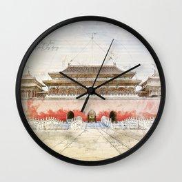 The forbidden City, Beijing Wall Clock