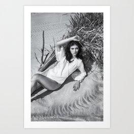 B&W Models Series 2 Art Print