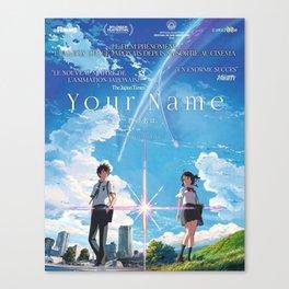 Your Name Kimi no na wa Anime Canvas Print