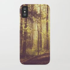 She Experienced Heaven on Earth Among the Trees Slim Case iPhone X