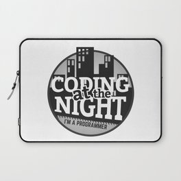 Programmer - Coding at the night Laptop Sleeve