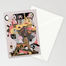 Camping at Home Stationery Cards