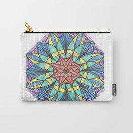 Octagonal mandala Carry-All Pouch