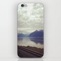 alaska iPhone & iPod Skins featuring Alaska by Alex Rakoczy