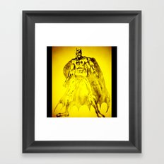 Yellow Bat Framed Art Print