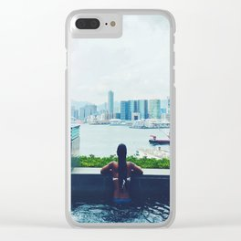 Four Seasons Clear iPhone Case
