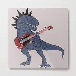 He-Rex Electric Guitar Metal Print