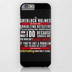 Interesting Cases Only iPhone 6s Slim Case