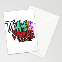 The Anime Syndicate Ninja White w/ For The Village Kanji Stationery Cards