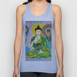 Buddha Freedom Nirvana Unisex Tank Top