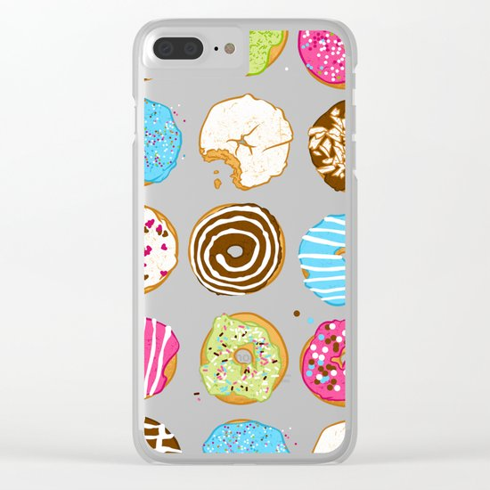 Sweet donuts Clear iPhone Case
