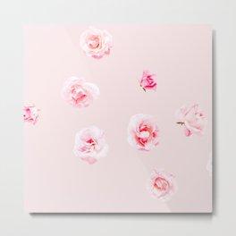 Tiny Cute Roses  Metal Print