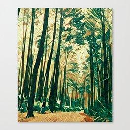 way to heaven 4 Canvas Print