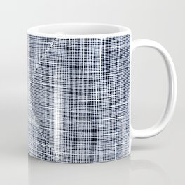 Ink Weaves: Sapphire Coffee Mug