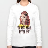 rocky horror Long Sleeve T-shirts featuring The Rocky Horror Picture Show by AdrockHoward