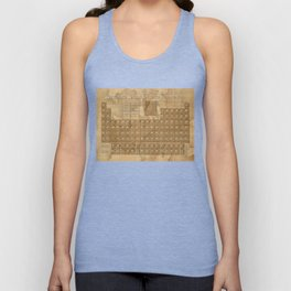periodic table of elements Unisex Tank Top
