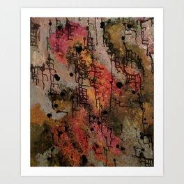 Saturation Art Print