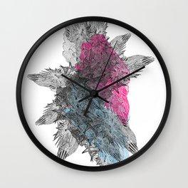 Die Seltsam (runde funf.) Wall Clock