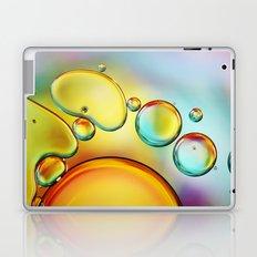 Pretty Drops of Rainbow Oil Laptop & iPad Skin