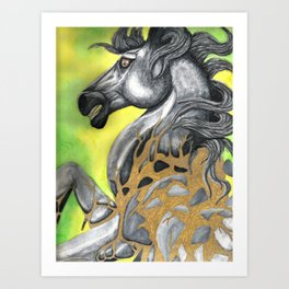 Everything Stone Turns To Gold Art Print
