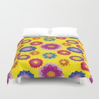 ukraine Duvet Covers featuring Sunny Ukraine by rusanovska